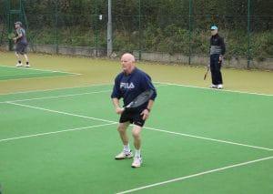 Cross in Hand tennis team