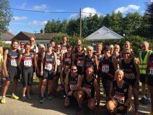 Hailsham Harriers runners
