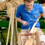 man making trug