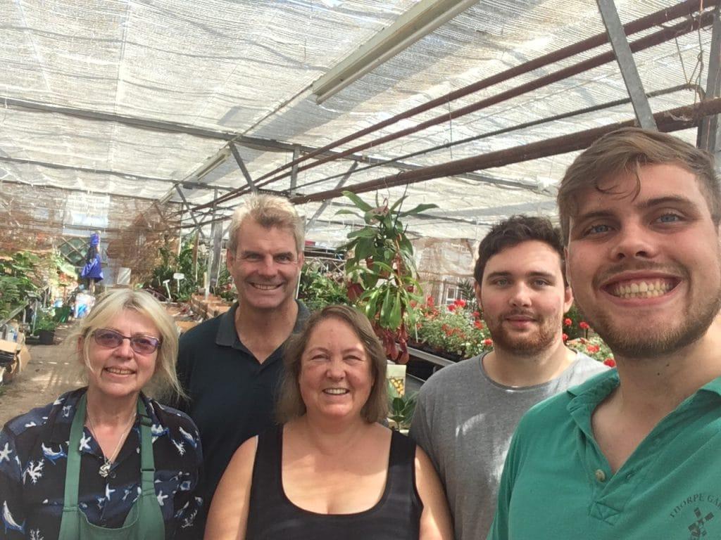 The Thorpe Gardens team
