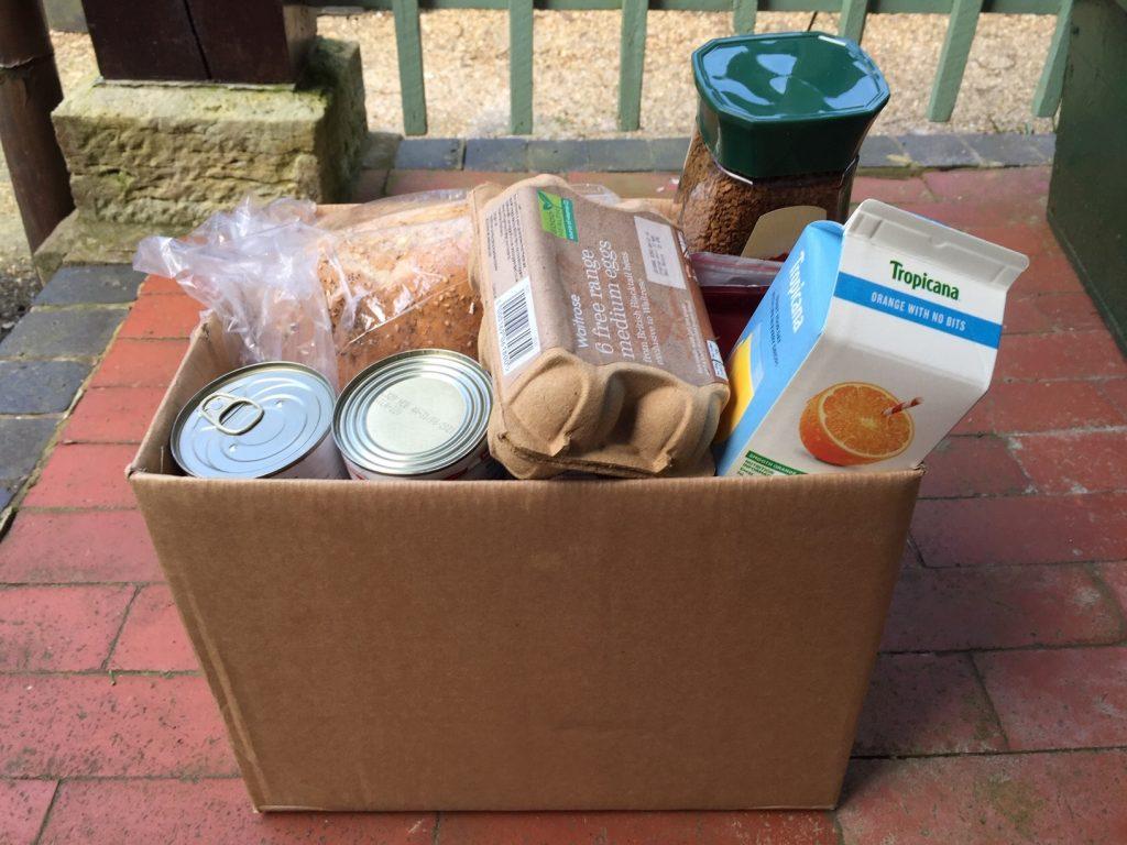 A food parcel